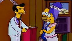 Vendedor ambulante de cuchillos en el capítulo 'Me casé con Marge'