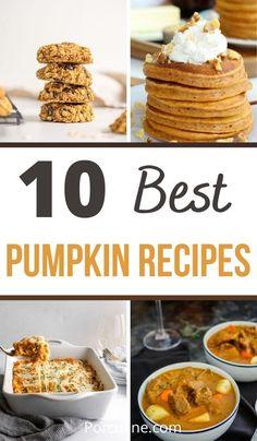 Lunch Recipes, Fall Recipes, Seafood Recipes, Dessert Recipes, Dinner Recipes, Healthy Recipes, Desserts, Savory Pumpkin Recipes, Best Pumpkin