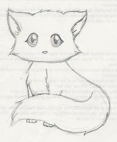 Cute Kitten Drawings