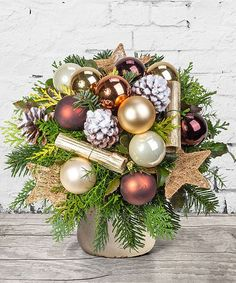 Best Pic Golden Times - order now from Valentins Rose Gold Christmas Decorations, Diy Christmas Garland, Christmas Floral Arrangements, Butterfly Decorations, Christmas Flowers, Valentines Day Decorations, Christmas Centerpieces, Xmas Decorations, Handmade Christmas