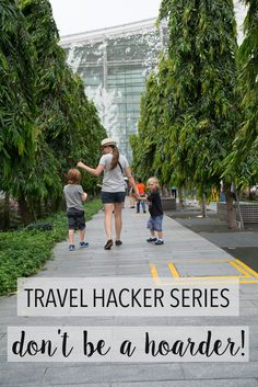 Travel Hacker Series: Don't be a hoarder - ship baby ship!