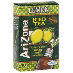 AriZona Sugar Free Lemon Iced Tea Stix 10 count Pack of 12  Review Buy Now