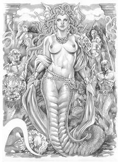 Medusa by *TorqueArtStudio on deviantART