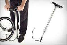Pump Seatpost: Een fietsband oppompen met het zadel. Geweldig idee had ik op moeten komen
