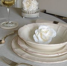 French style dinner set 18pc