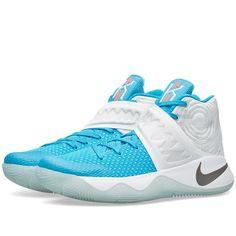 big sale 166e5 3b577 Nike Kyrie 2  Christmas  (White, Obsidian  amp  Blue Lagoon) Best