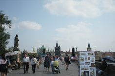 Vistors and Tourists to the beautiful city of Prague in 2012