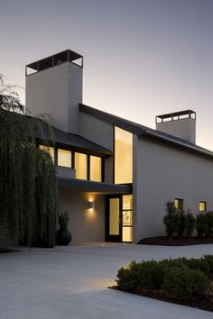 Contemporary Home tuscan modern exteriors Design Ideas, Pictures, Remodel and Decor