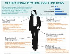 Occupational psychologist functions