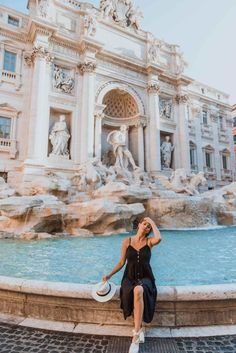 How to Spend a Weekend in Rome Italy | Best of Rome Travel Guide Dana Berez | Top things to do in Rome Trevi Fountain