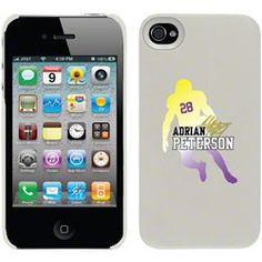 NEW ARRIVAL: Adrian Peterson - Silhouette on iPhone 4 / 4S Thinshield Snap-On Case by Coveroo http://www.fansedge.com/Adrian-Peterson---Silhouette-on-iPhone-4-4S-Thinshield-Snap-On-Case-by-Coveroo-_-112901513_PD.html?social=pinterest_pfid55-02633