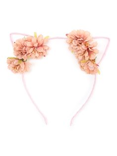 Shop Flower Embellished Cat Ear Headband online. SheIn offers Flower Embellished Cat Ear Headband & more to fit your fashionable needs.