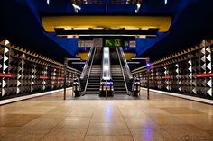"munich subway station "" Olympia - Einkaufszentrum"" ( Olympia mall)"