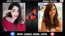 War of #Cuteness Disha Patani Vs Adah Sharma S