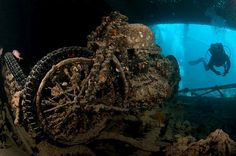 Wreck diving The Thistlegorm, Red Sea, Egypt