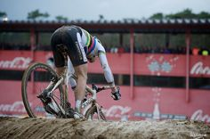 Niels Albert (BE) diving in the mud abyss
