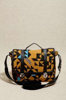 Kate Sheridan Mini Geo Print Satchel <3