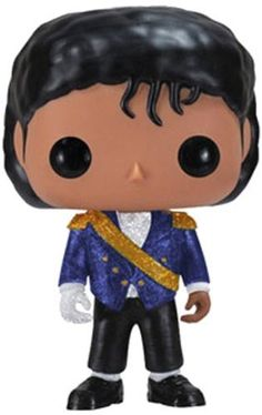 Funko Pop Rocks: MJ – Military Vinyl Figure [Holiday Gifts] http://popvinyl.net #funko #funkopop #popvinyls