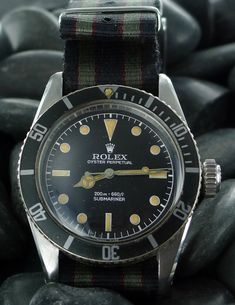 Rolex Submariner 6538 Big Crown Sean Connery