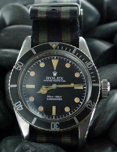 Rolex Submariner 6538 Big Crown Sean Connery. Handsome devil
