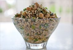 Bulgur Pilaf with Chickpeas and Herbs | Vegetarian Thanksgiving Recipes - Well - NYTimes.com