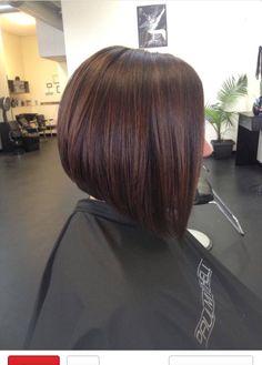 Short medium hair inspiration brunette