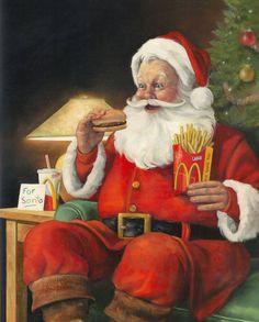 Santa & His Fries