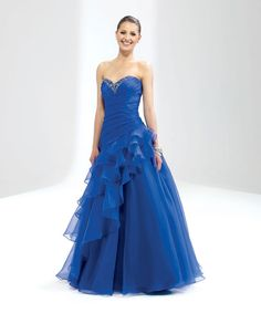 Sweetheart neckline gorgeous organza with beading home coming dress