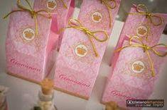 Resultado de imagen para festa da princesa rosa com dourado
