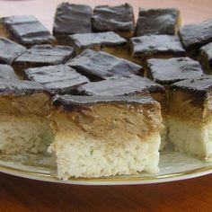 Kókuszos-kávés sütemény -- Mindmegette.hu Camembert Cheese, Food And Drink, Pie, Torte, Cake, Fruit Cakes, Pies, Cheeseburger Paradise Pie, Pot Pie