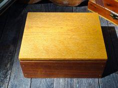Keepsake Box Jewelry Box Wood Box Wedding Prop by MaxsUniquities