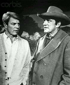 Wow! I don't know if this is a little known fact, but James Arness (Gunsmoke) is Peter Grave's (Mission Impossible) older brother!
