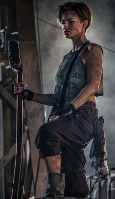 Ruby rose should be in the walking dead -inna. Ruby rose should be in the walking dead -inna. Androgynous Women, Orange Is The New Black, Resident Evil, Woman Crush, Female Characters, Pretty People, Girl Crushes, Character Inspiration, Short Hair Styles
