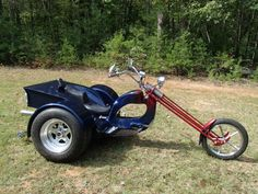 1973 Old School Trike Photos and info - TenWheel Custom Trikes, Custom Choppers, Custom Motorcycles, 3 Wheel Motorcycle, Funny Motorcycle, Motorcycle Rides, Vw Trikes For Sale, Harley Davidson Trike, Bobber Chopper