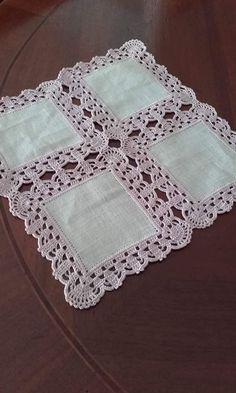Handmade Crochet Cotton Lace Table Runner And Dresser Sca. Crochet Bedspread, Crochet Fabric, Crochet Cushions, Crochet Quilt, Crochet Tablecloth, Hand Crochet, Filet Crochet, Crochet Lace Edging, Crochet Borders