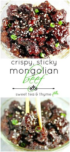 This is, no joke, the BEST homemade Mongolian beef I've ever made - AWESOME recipe!
