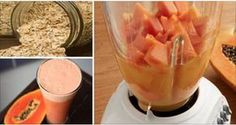 Oatmeal and Papaya Smoothie Deflates your belly and makes you lose weight Fitness Workouts, Ab Workouts, Protein Diets, Kefir, Healthy Life, Smoothies, Food And Drink, Health Fitness, Fitness Life