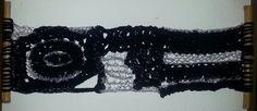 Serie mural 2.  Plata.  Técnica mixta (Bambú, trapillo y cordón de plata )