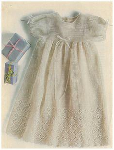 Exquisite Gown Pattern Thread by LittleKiddiesCrochet on Etsy, $8.00