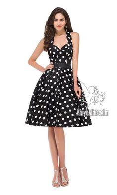 bayan elbise kolsuz vintage tasarım puantiye desenli,abiye elbise,kısa abiyeler,uzun abiye,online abiye,ucuz abiye,mez