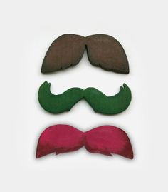 #Movember <3 Wooden Wall Hanging Moustaches  Home Decor by Yourbeautifulhome, $36.00