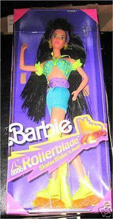 Barbie KIRA Rollerblade doll by Mattel. $29.95