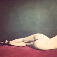 Felix Vallotton, Nu couché sur un Tapis rouge (Detail), 1909