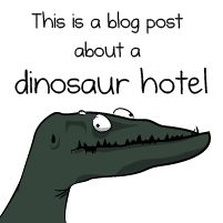 (Who's going to go visit with me?)  This is a blog post about dinosaurs, Tesla, and a hotel in Colorado - The Oatmeal