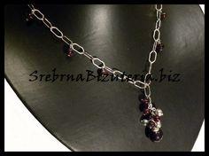My own garnet necklace