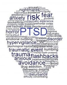 PTSD: interesting depiction of some of the traits of this disorder.