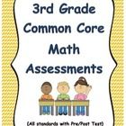 3rd+Grade+Common+Core+Math+Assessments  This+packet+includes+2+assessments+for+EVERY+3rd+grade+Common+Core+Math+Standard.+  These+assessments+can+b...