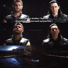 Oh my gosh… Look at the look on Loki's face...he knows it's Thanos, and he's scared...my poor boy