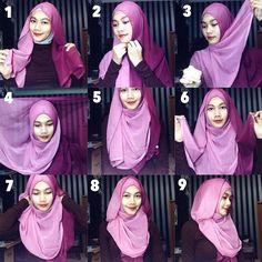 Winter Inspired Hijab Tutorial