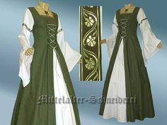 Mittelalterkleid Baumwolle Anfertigung von Mittelalter-Schneiderei auf DaWanda.com